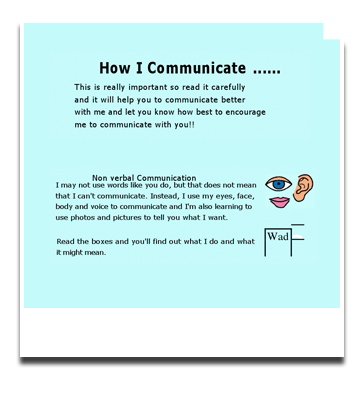 explain how to adapt communication difficulties with children Communication disorders in children are common students who speak dialects different from standard english may have communication problems that represent either language differences or, in more severe instances, language disorders.